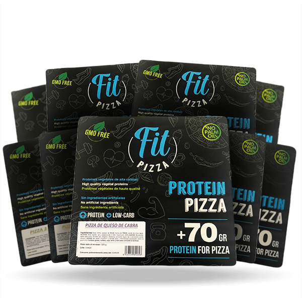 Pack 9 protein fit pizza Fitness Burger - 1