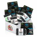 Pack 5 bandejas de hamburguesas y 5 protein fit pizza Fitness Burger - 1