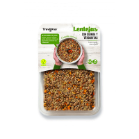 Lentils with quinoa and vegetables - 220g DiexFood - 1
