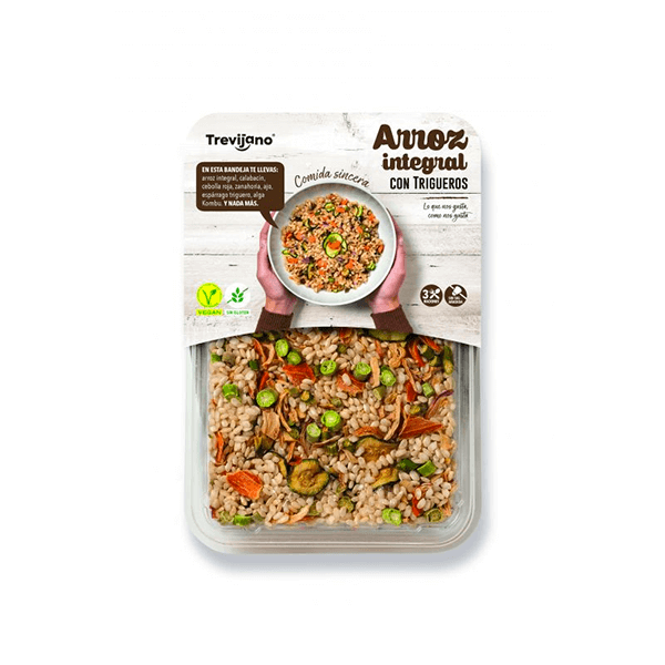 Brown rice with asparagus - 250g DiexFood - 1