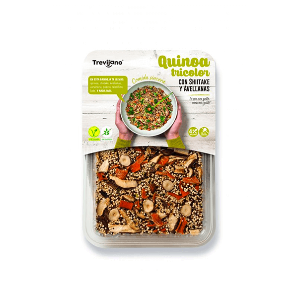 Tricolor quinoa with shiitake and hazelnuts - 250g DiexFood - 1