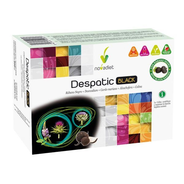 Despatic black - 20 vials Novadiet - 1