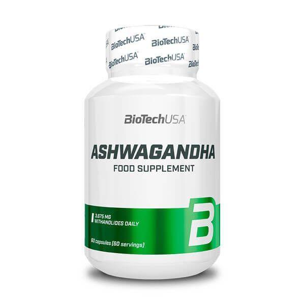 Ashwagandha - 60 capsules Biotech USA - 1