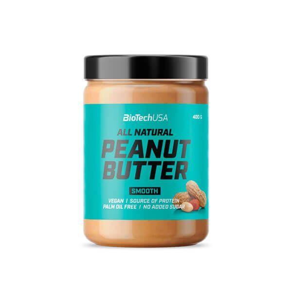 Peanut butter - 400g Biotech USA - 2