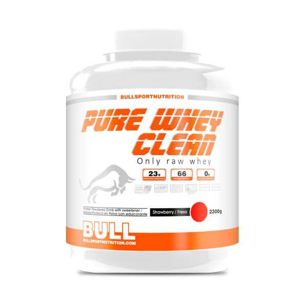 Pure whey clean - 2.3 kg Bull Sport Nutrition - 2