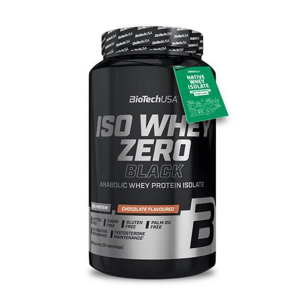 Iso whey zero black - 908g Biotech USA - 1