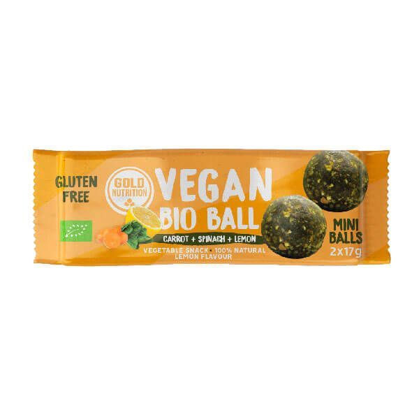Vegan bio ball - 2x17g GoldNutrition - 2