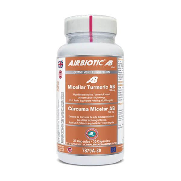 Turmeric micellar ab complex - 30 capsules Airbiotic AB - 1