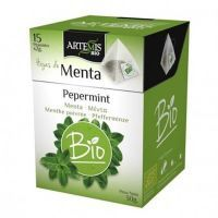 Mint leaves in pyramid - 15 sachets Artemis BIO - 1