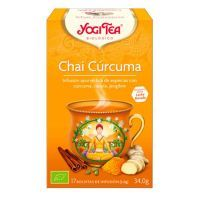 Turmeric chai - 17 sachets Yogi Organic - 1