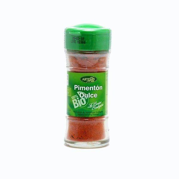 Organic sweet paprika - 38gr Artemis BIO - 1