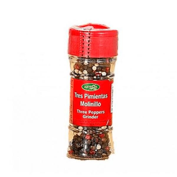 Jar three peppers grinder eco - 35gr Artemis BIO - 1