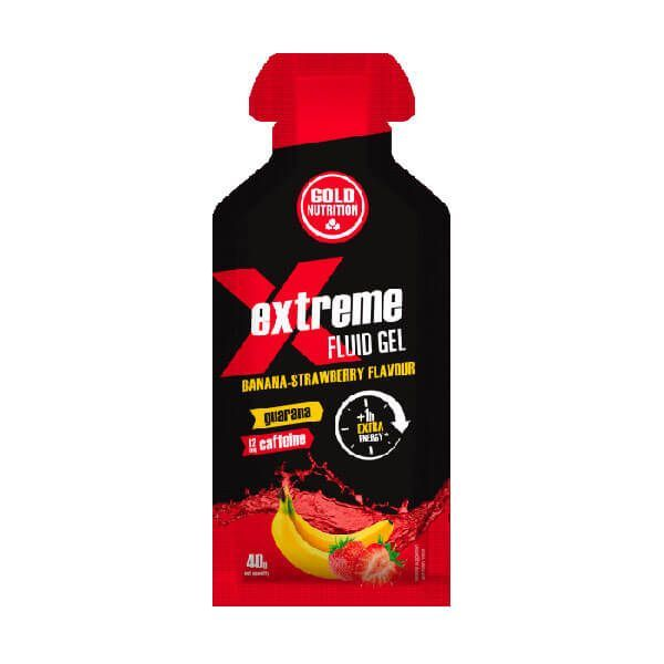 Extreme fluid gel guarana + caffeine - 40g GoldNutrition - 1