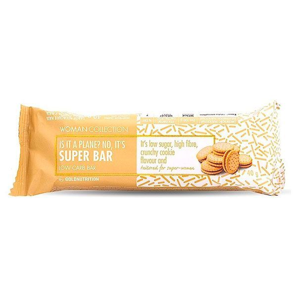Super bar low carb - 40g GoldNutrition - 3