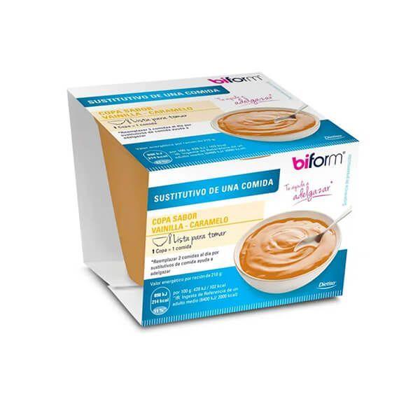 Vanilla and caramel cup - 210gr Biform - 1