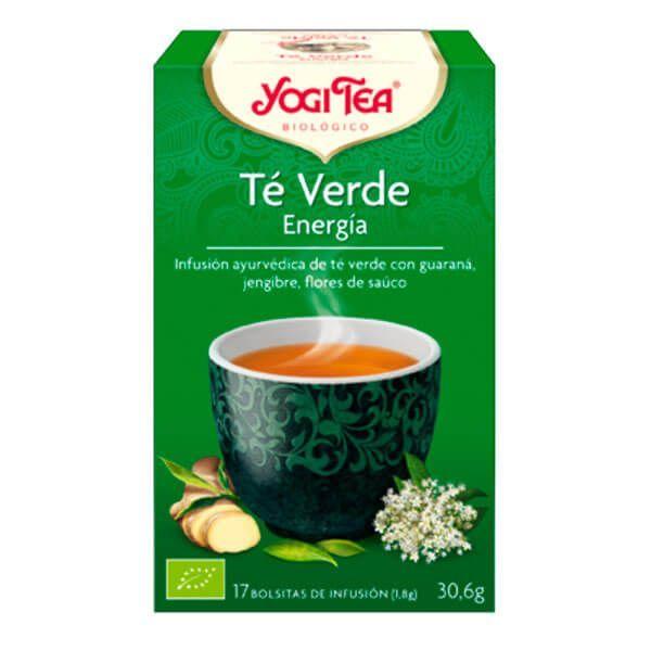 Yogi tea green tea energy - 17 sachets Yogi Organic - 1