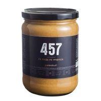 457 peanut butter 100% natural - 500g Paleo Bull - 1