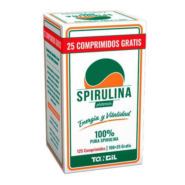 Spirulina - 125 tablets Tongil - 1