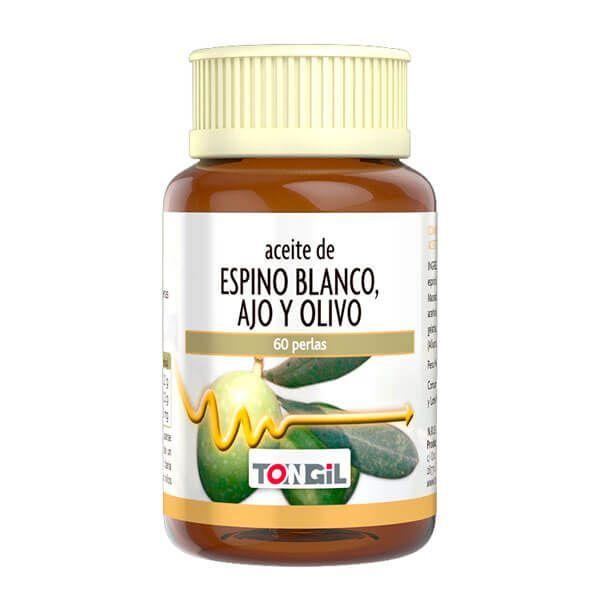 Hawthorn, garlic and olive oil - 60 softgels Tongil - 1