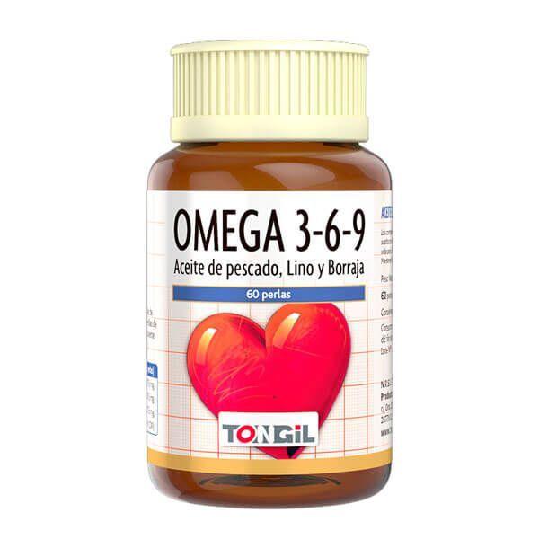 Omega 3-6-9 - 60 softgels Tongil - 1