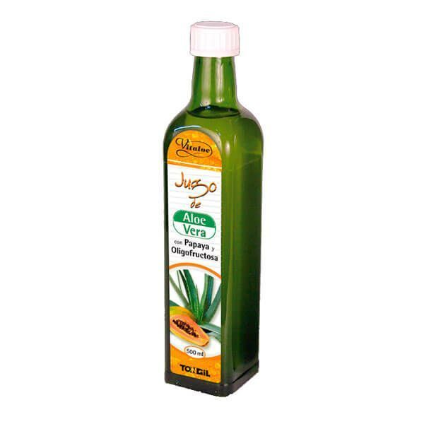 Vitaloe aloe vera juice with papaya and oligofructose - 500ml Tongil - 1