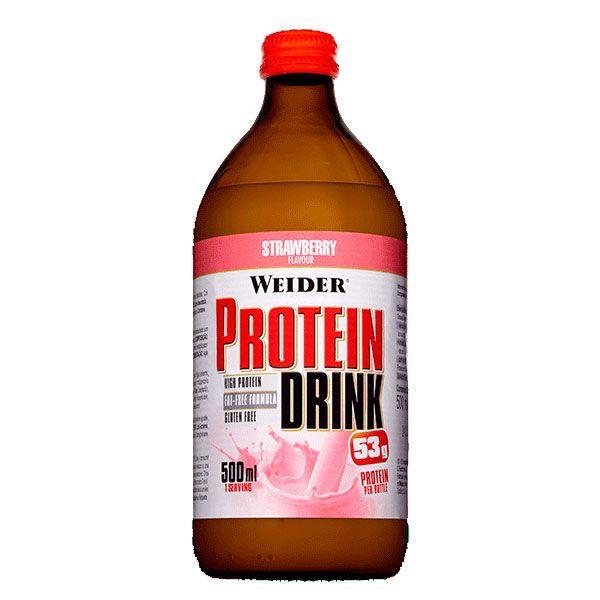 Protein drink - 500ml Weider - 3