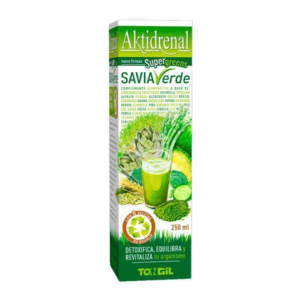 Aktidrenal green sap - 250ml Tongil - 1