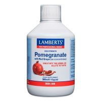 Pomegranate with red grape as concentrates - 500ml Lamberts - 1