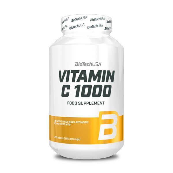 Vitamin c 1000 bioflavonoids - 250 tabs Biotech USA - 1