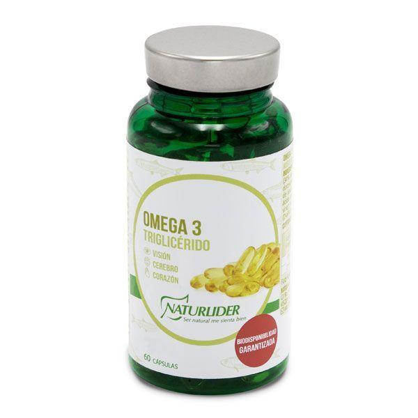 Omega 3 triglyceride - 60 softgels NaturLíder - 1