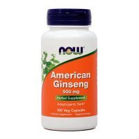American ginseng 500mg - 100 capsules Now Foods - 1