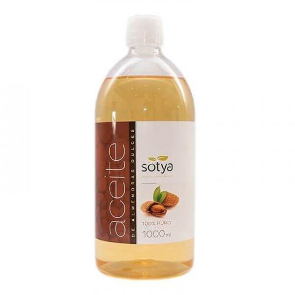 Sweet almond oil - 1 l Sotya Health Supplements - 1