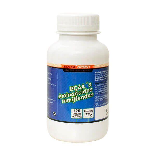 Bcaas 600mg - 120 capsules Sotya Health Supplements - 1