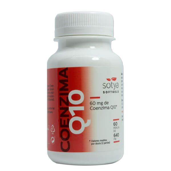 Coenzyme q10 - 60 softgels Sotya Health Supplements - 1