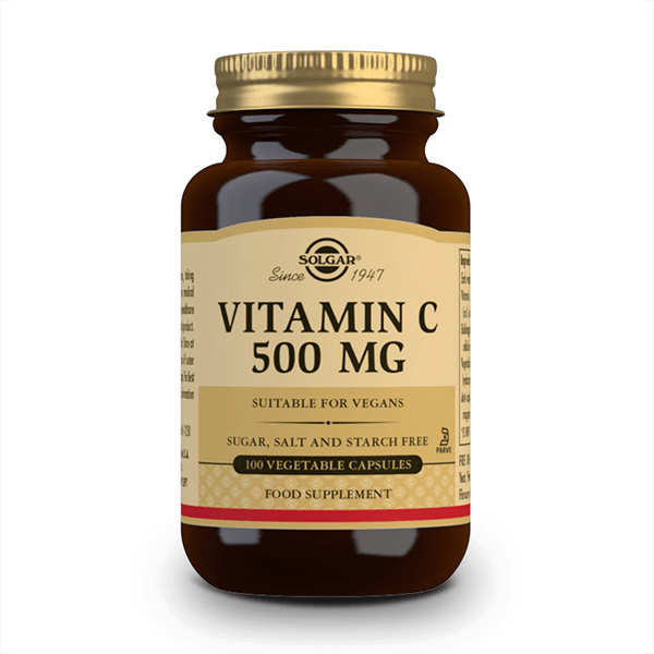 Vitamin c 500mg - 100 vegetable capsules Solgar - 1