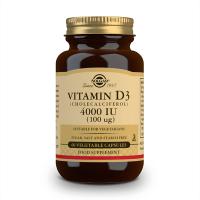 Vitamin d3 4000iu 100mcg - 60 vegetable capsules Solgar - 1