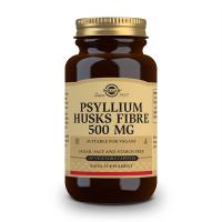 Fibra di Psyllium Husks 500mg - 200 capsule vegetali Solgar - 1