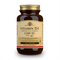 Vitamin d3 (cholecalciferol) 2200iu (55mcg) - 100 vegetable capsules Solgar - 1