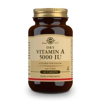 Vitamina Secca A 5000IU - 100 compresse Solgar - 1