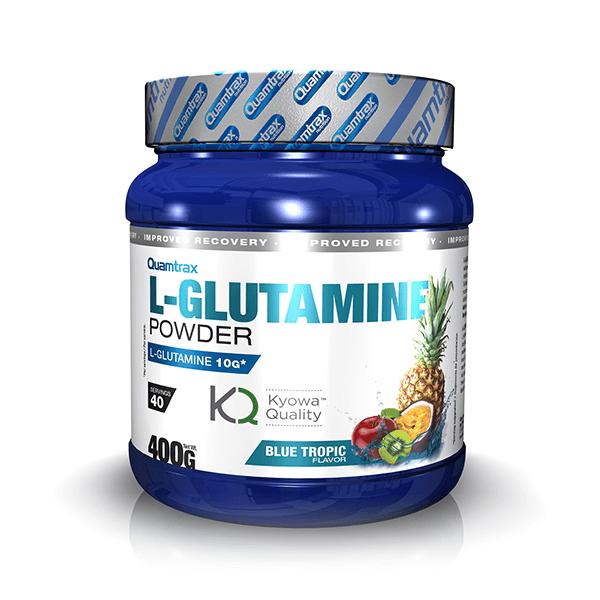 L-glutamine powder kyowa - 400g Quamtrax - 1