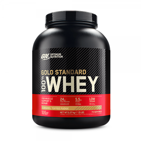 100% Whey Gold Standard 5 Lb (2,27Kg) Optimum Nutrition - 2