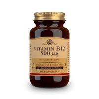 Vitamin b12 500mcg - 50 vegetable capsules Solgar - 1