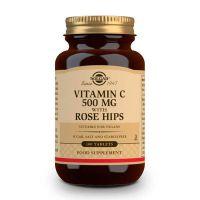 Vitamin c 500 + rosehips - 100 tabs Solgar - 1