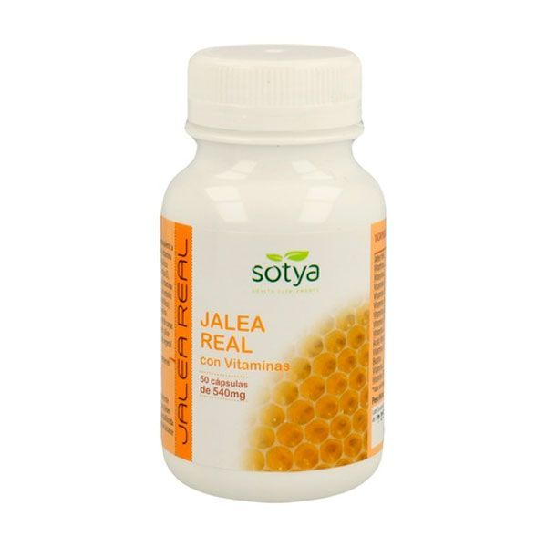 Royal jelly with vitamins 540mg - 50 capsules Sotya Health Supplements - 1
