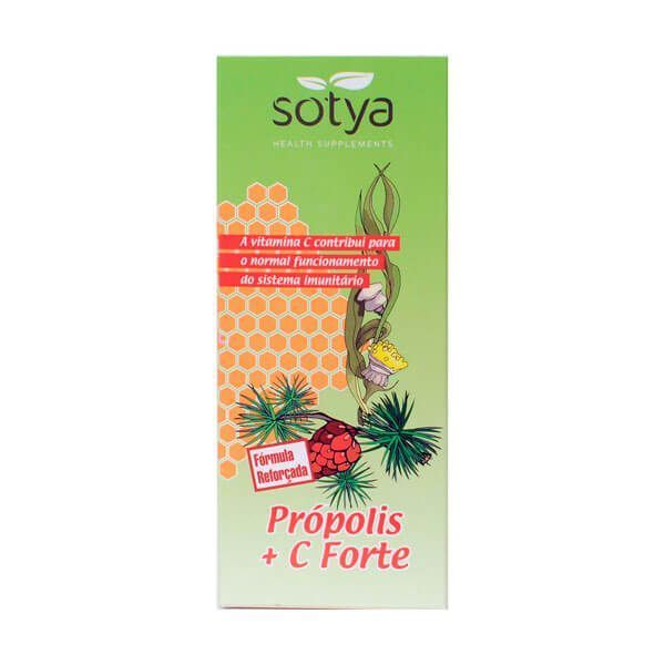 Propolis and vitamin c forte syrup - 250ml Sotya Health Supplements - 1