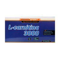 L-carnitine 3000mg - 10 vials Sotya Health Supplements - 1