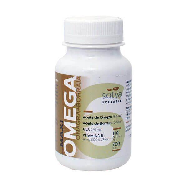 Maxi omega evening primrose + borage 700mg - 110 softgels Sotya Health Supplements - 1