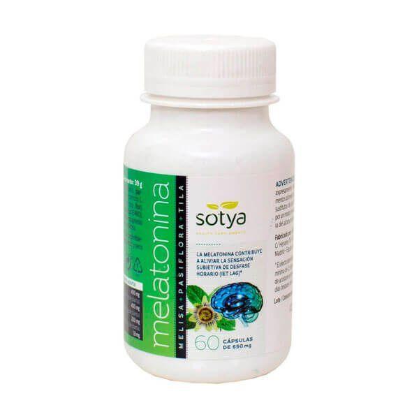 Melatonin melissa passionflower linden - 60 capsules Sotya Health Supplements - 1