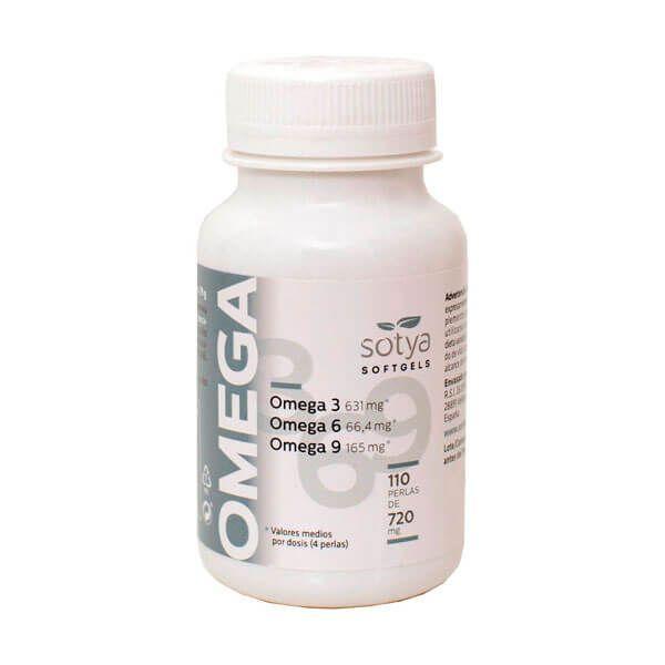 Omega 3 6 9 720mg - 110 softgels Sotya Health Supplements - 1