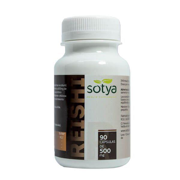 Reishi 500mg - 90 capsules Sotya Health Supplements - 1